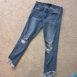 Flying monkey fringe jeans